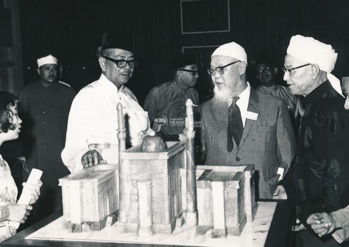 Pembukaan Masjid Negara, 1965